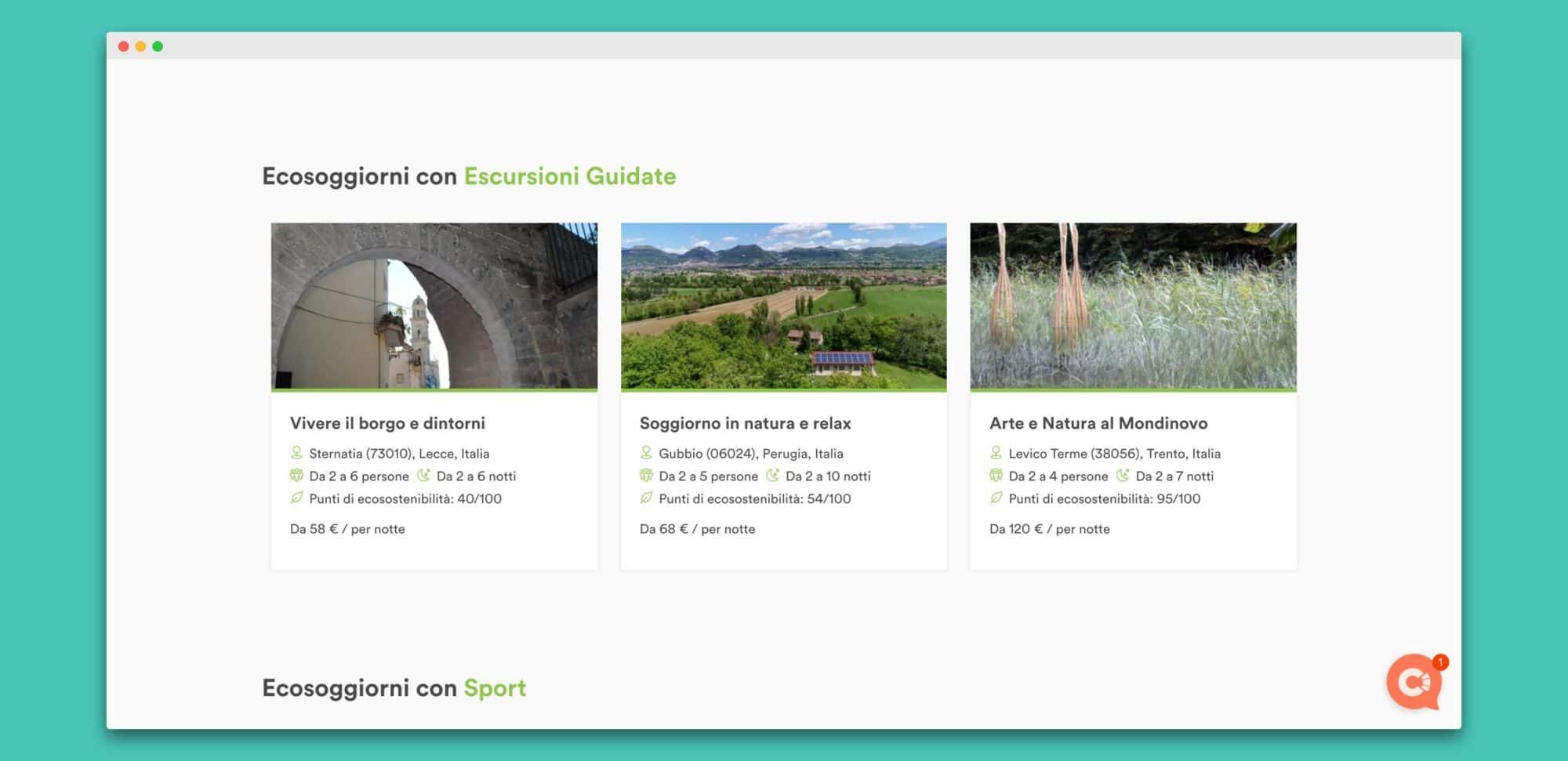 biotravel teroro agency piattaforma webapp 2 - Biotravel