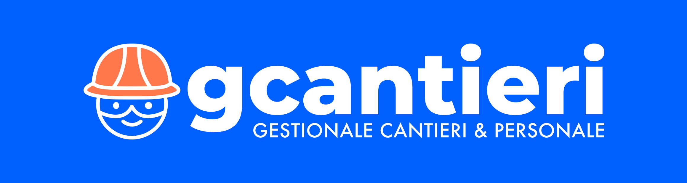 logo gcantieri sfondo blu - Gcantieri - Gestionale Cantieri e Personale