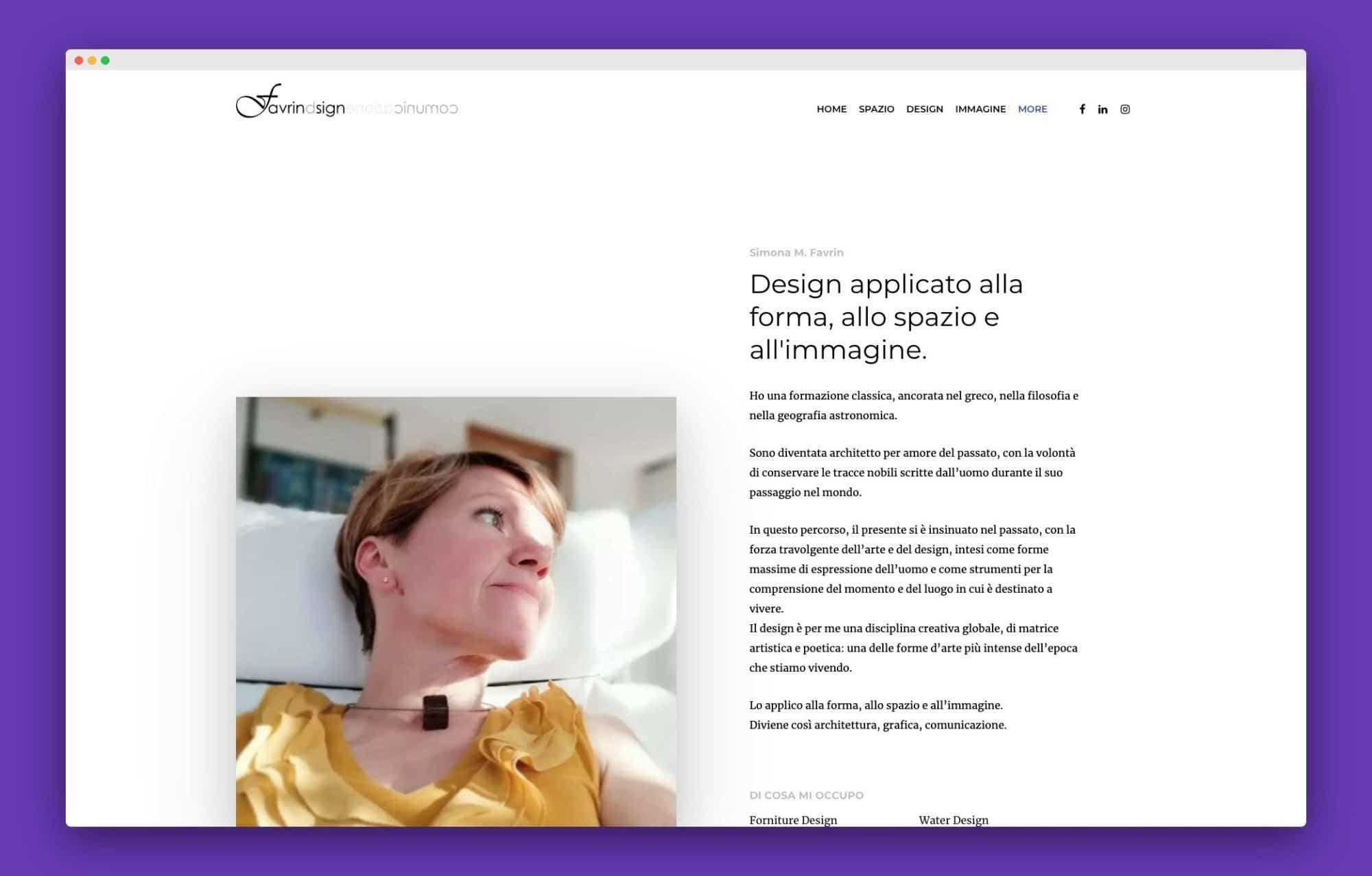 realizzazione sito internet architetto venezia 5 - Favrin Design - Architecture and Design