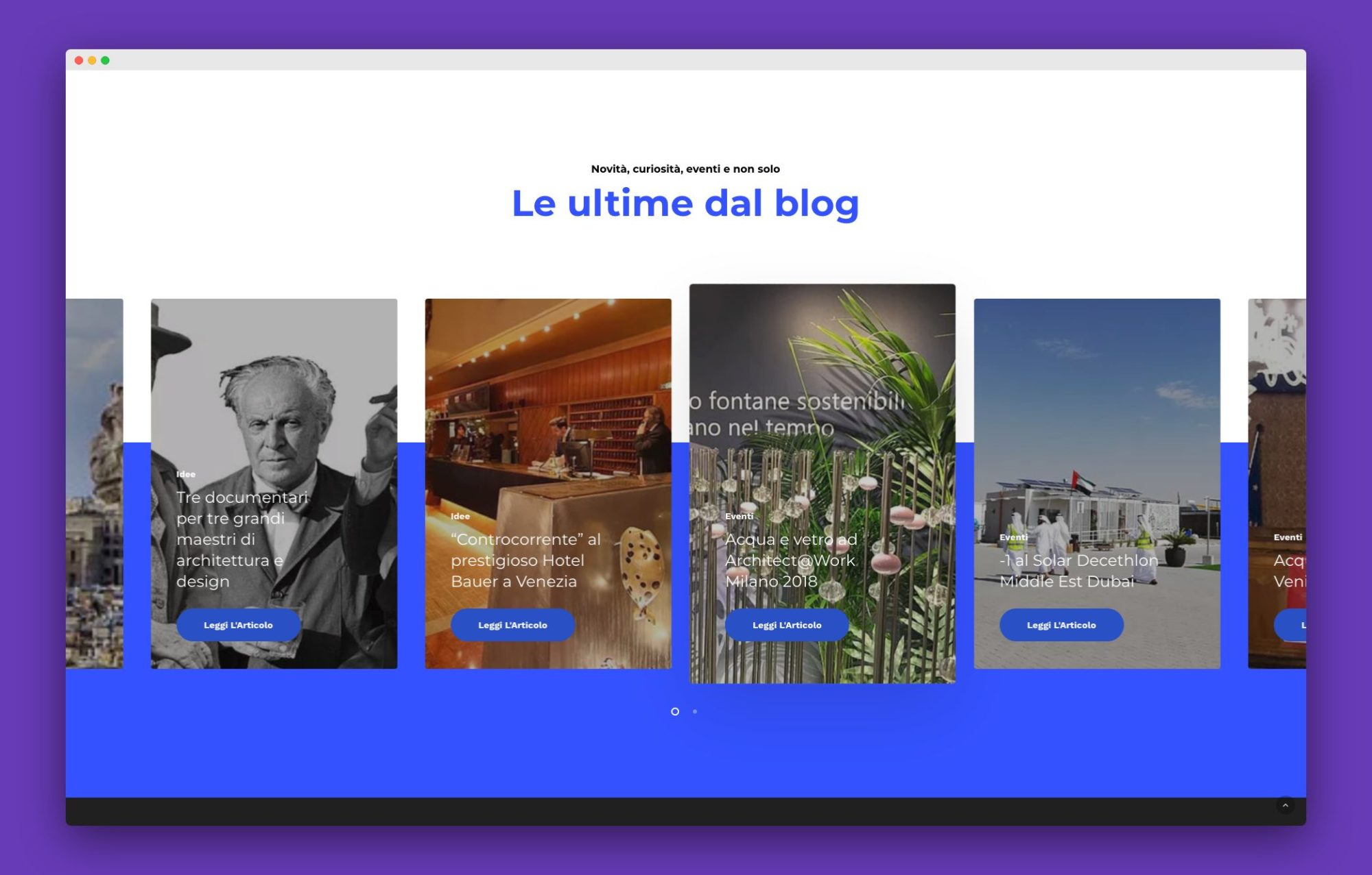 realizzazione sito internet architetto venezia 6 - Favrin Design - Architecture and Design