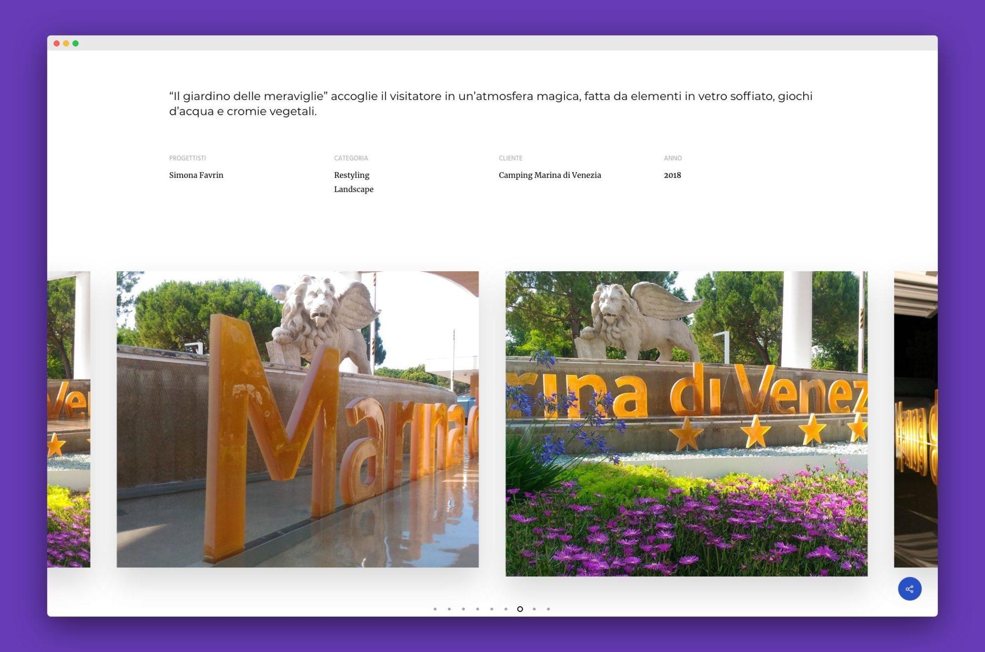 realizzazione sito internet architetto venezia - Favrin Design - Architecture and Design