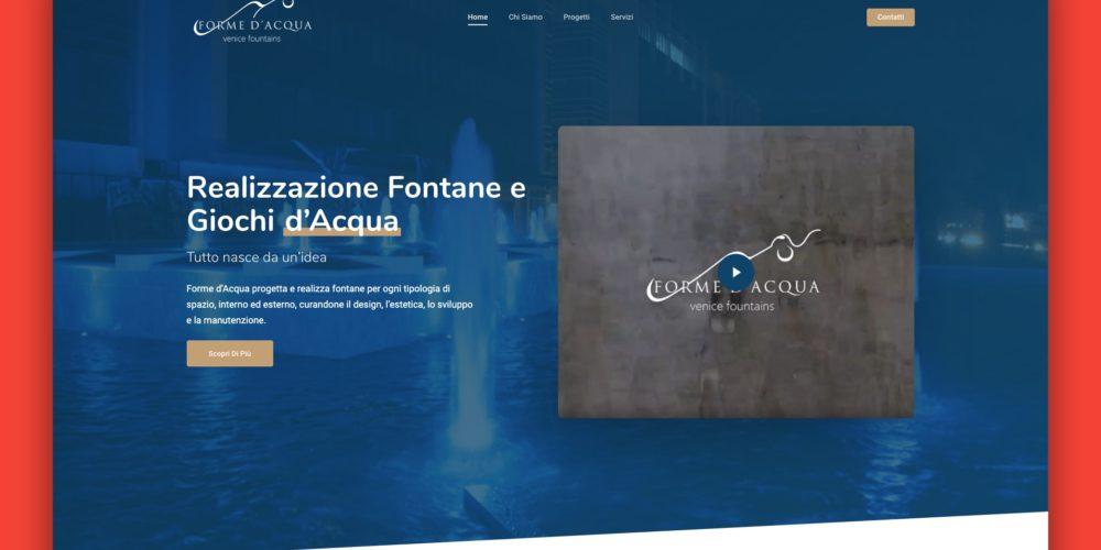 Realizzazione Fontane – Landing Page