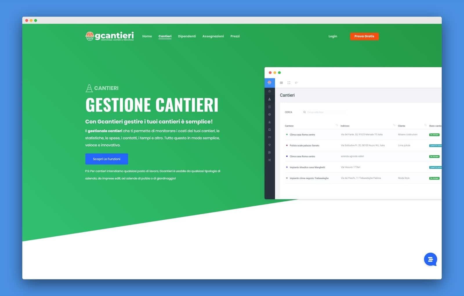 teroro progetto gcantieri realizzazione sito internet 6 - Gcantieri - Gestionale Cantieri e Personale