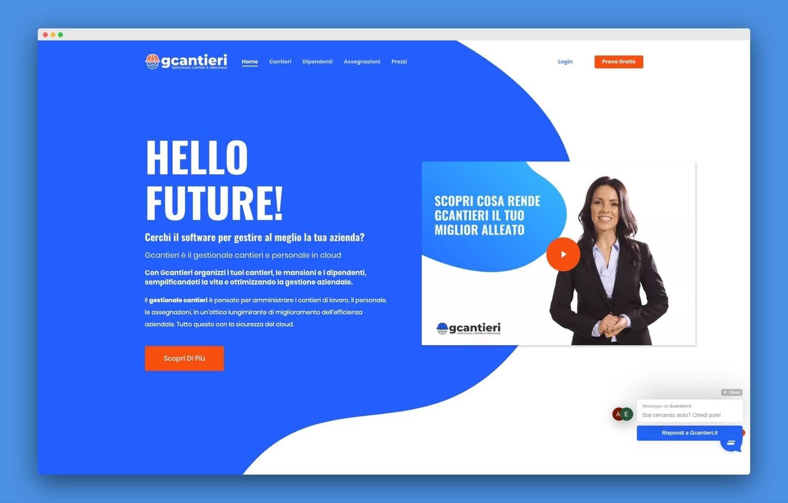 teroro progetto gcantieri realizzazione sito internet - Gcantieri - Gestionale Cantieri e Personale